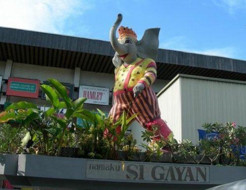 なっちゅのブログでbbパサールのスーパーマーケットが楽しすぎる マスコットのガヤン君は象です。